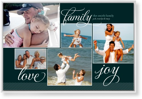 Family Sentiments Mounted Wall Art, Single piece, White, 24 x 36 inches, Black