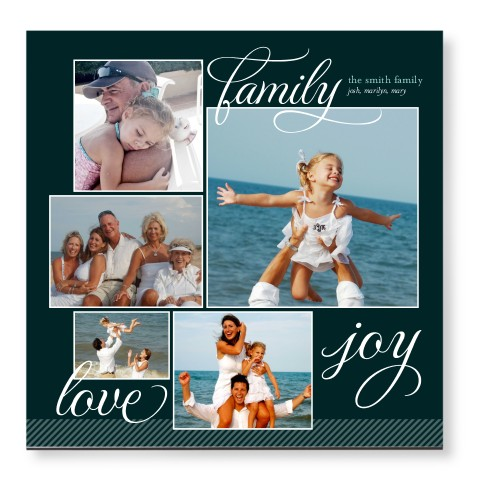 Family Sentiments Mounted Wall Art, Single piece, None, 12 x 12 inches, Black