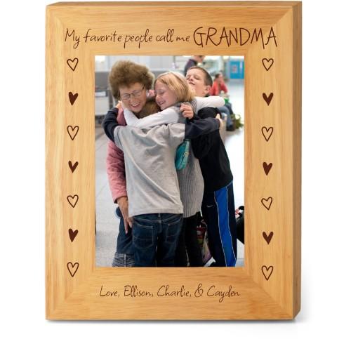 My Favorite People Wood Frame