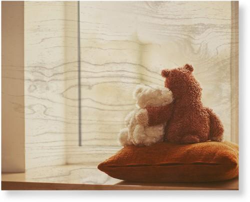 Bear Friends Wood Wall Art, Single piece, 16 x 20 inches, Multicolor