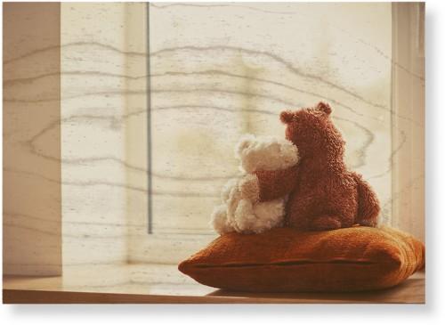 Bear Friends Wood Wall Art, Single piece, 10 x 14 inches, Multicolor