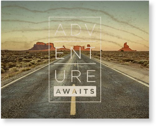 Adventure Awaits Wood Wall Art