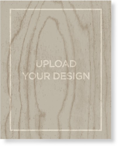 Upload Your Own Design Wood Wall Art, Single piece, 8 x 10 inches, Multicolor