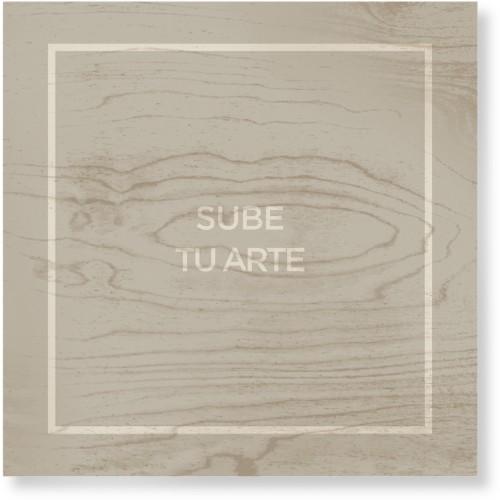 Sube Tu Arte Wood Wall Art, Single piece, 16 x 16 inches, Multicolor