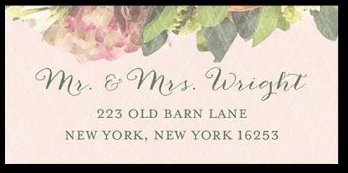Flowering Affection Address Label