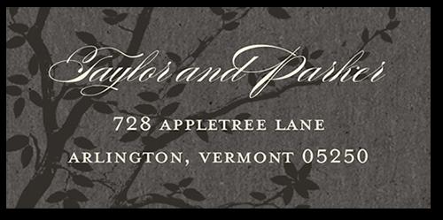 Enlightened Evening Address Label