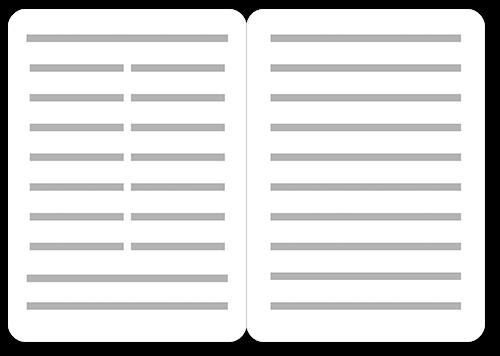 faded scroll 5x7 folded wedding program by coloring cricket shutterfly