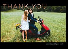 flourishing thanks thank you card