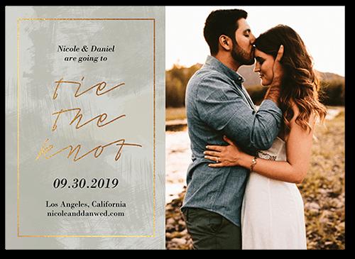 Romantic Affair Save The Date, Square
