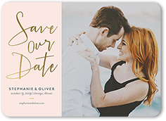 shining date save the date