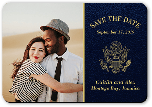 Passionate Passport Save The Date
