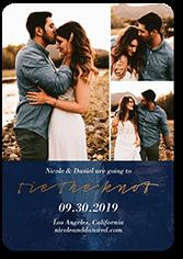 romantic affair save the date