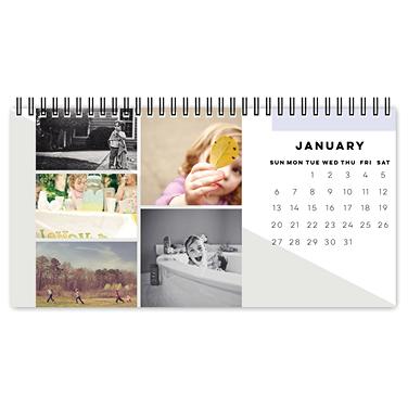 modern gallery desk calendar
