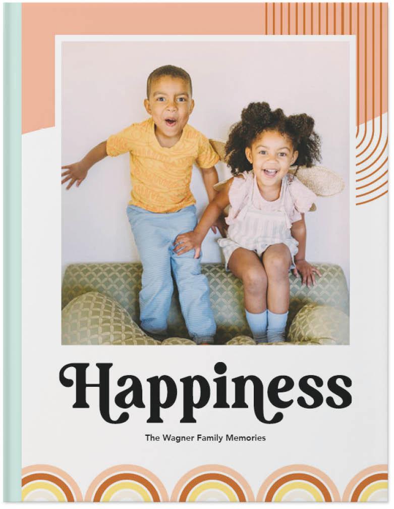 colorfully fun photo book