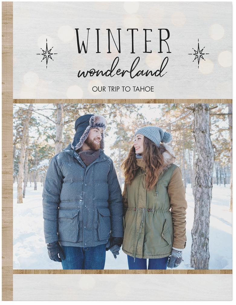 winter getaway photo book