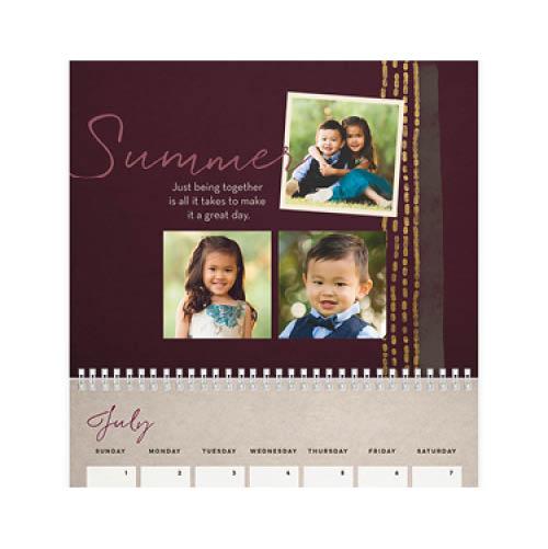 cherished memories wall calendar