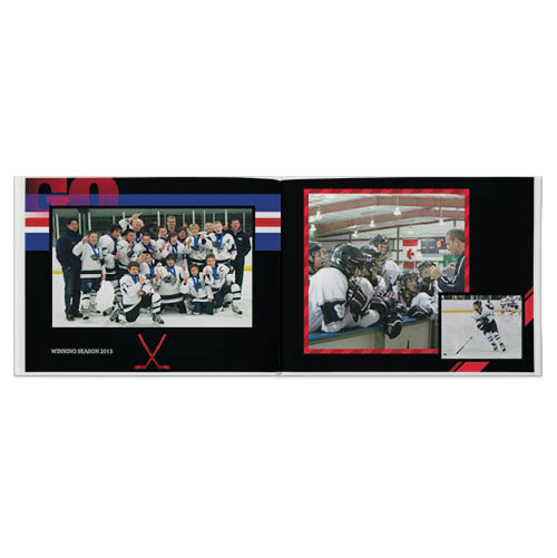 hockey rules photo book