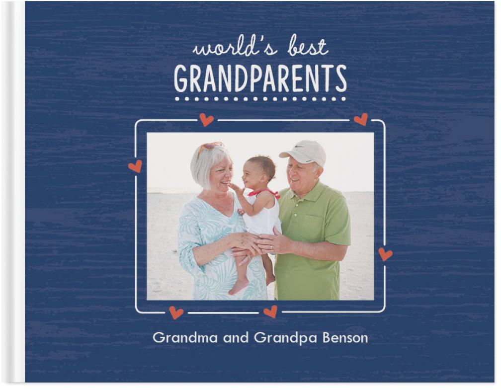 best grandparents ever photo book