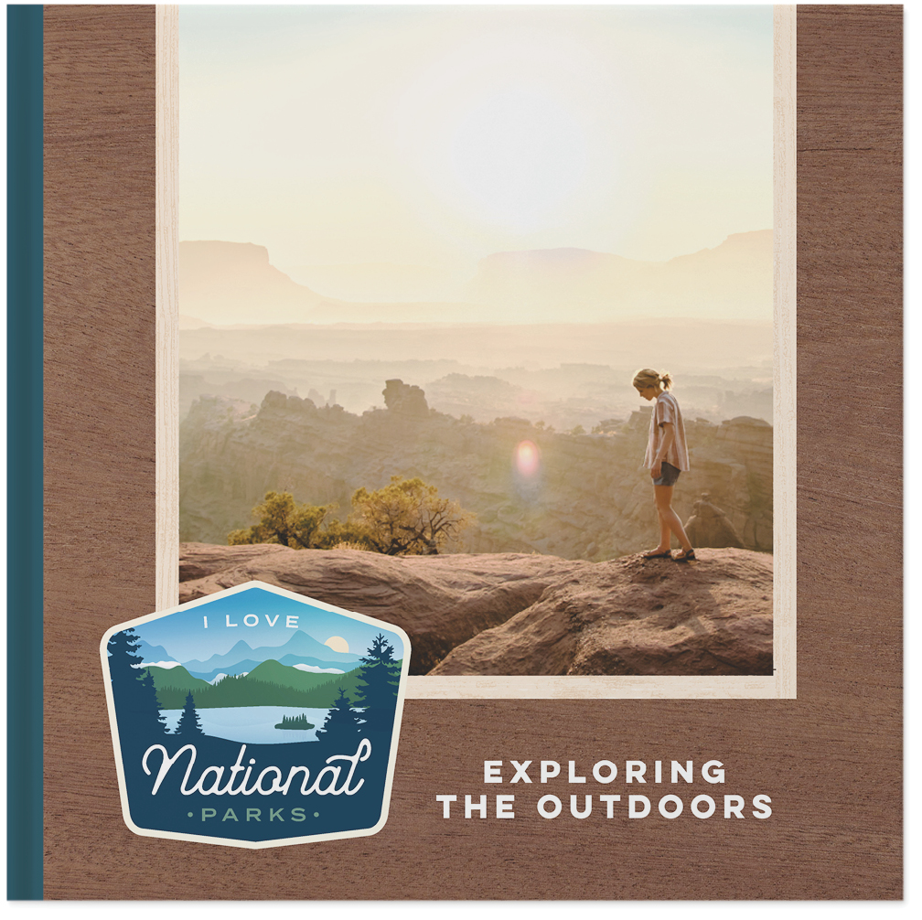 national parks travel by eiman design co photo book