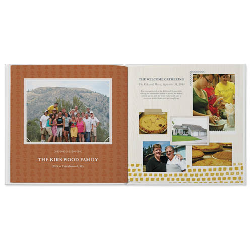 family reunion photo book