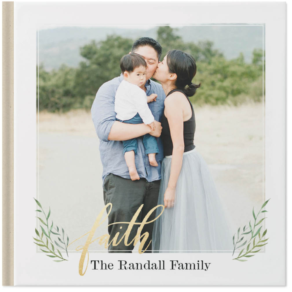 family blessings by potts design photo book