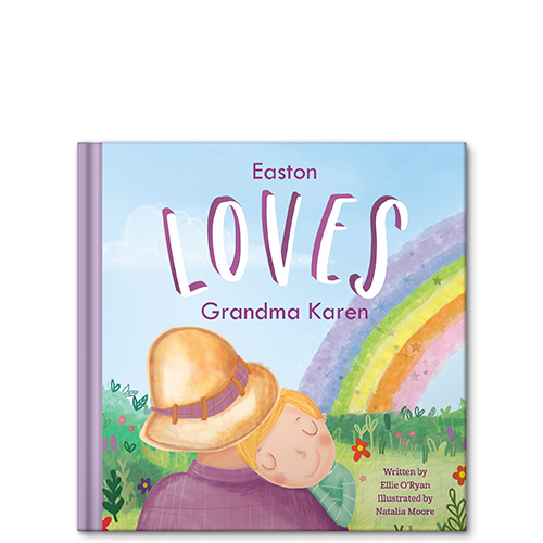 i love mommy grandma aunt personalized story book