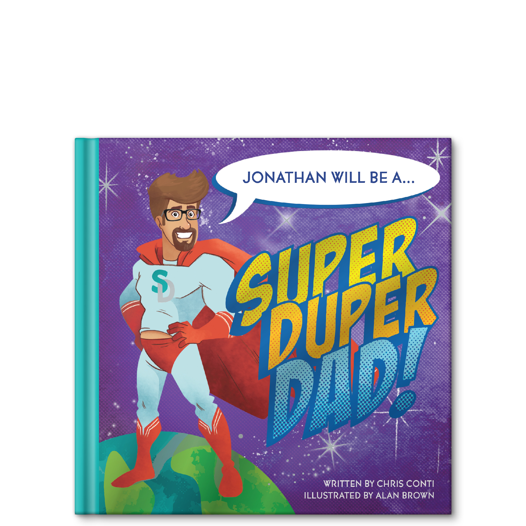 super duper dad personalized story book